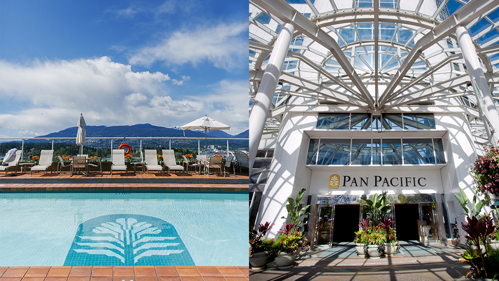 Waterfront Pool Pan Pacific Hotels Group | Hotel Reservation | Vancouver Langley Surrey 2019 | Barbara Mowat EXCELerate 2020