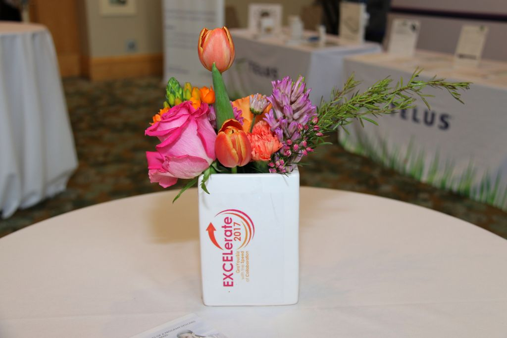 Flowers | Inspire Innovate Influence Conference 2017 | Bank of Montreal BMO 200 | Vancouver Langley Surrey 2019 | Barbara Mowat EXCELerate 2020 | GroYourBiz