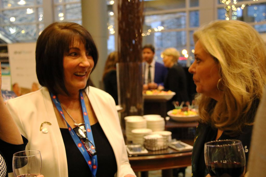 Pamela Martin Networking Catering Food Buffet | Inspire Innovate Influence Conference 2017 | Bank of Montreal BMO 200 | Vancouver Langley Surrey 2019 | Barbara Mowat EXCELerate 2020