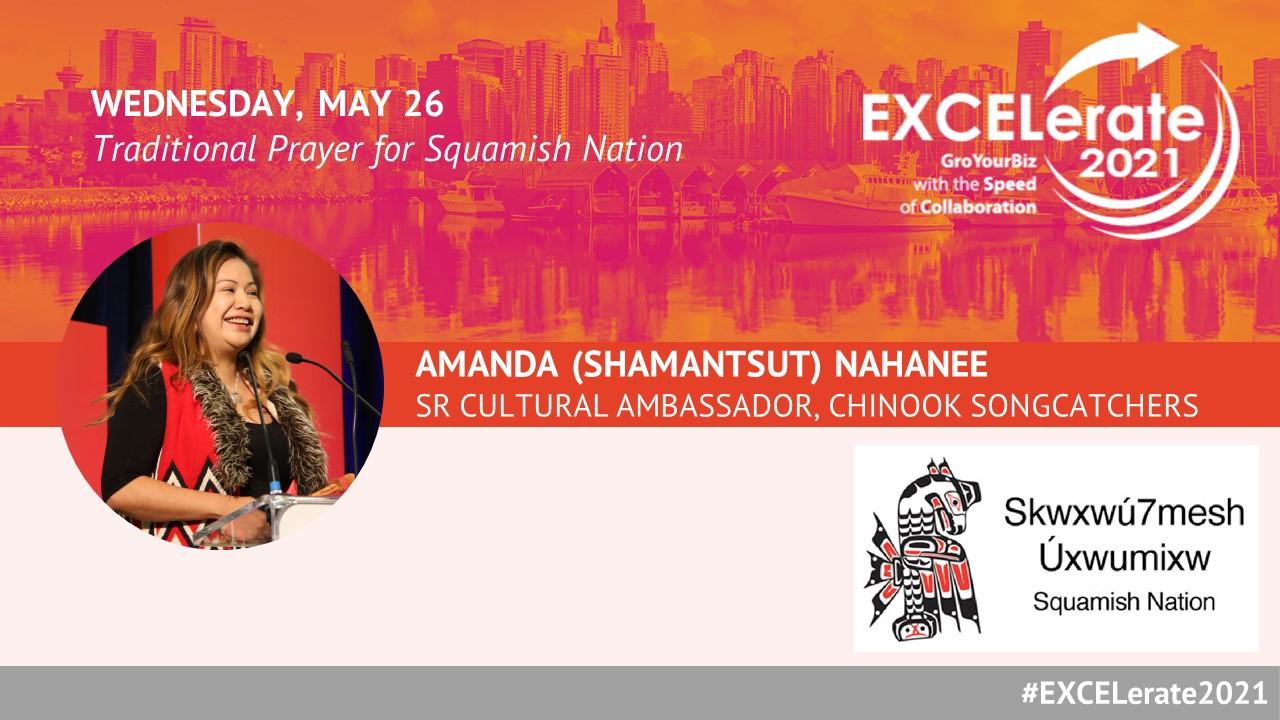 EXCELerate 2021 Shamantsut (Amanda) Nahanee