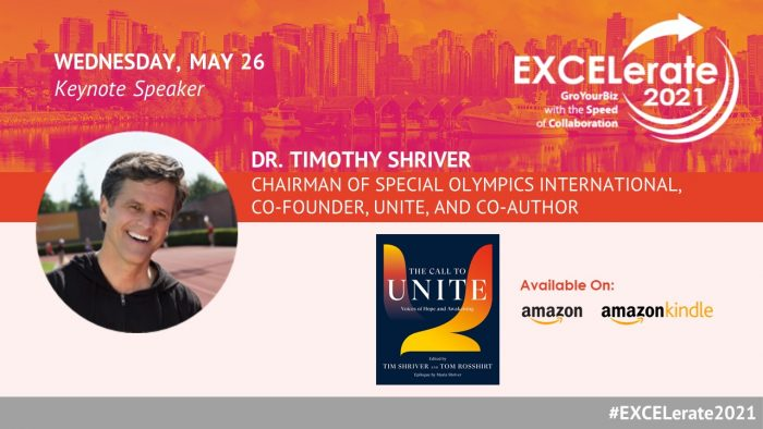 EXCELerate 2021 Dr. Timothy Shriver