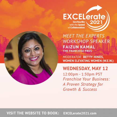 EXCELerate 2021 Franchise Your Business