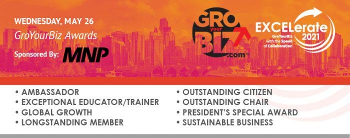 EXCELerate 2021 GroYourBiz Awards