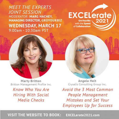 EXCELerate 2021 Know Who You Are Hiring & Avoid the 3 Most Common