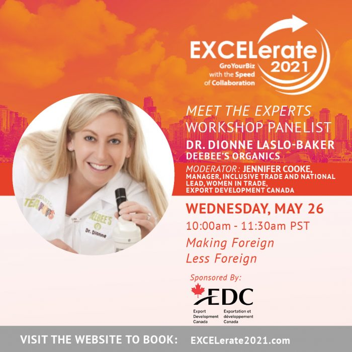 EXCELerate 2021 Making Foreign Less Foreign Dr. Dionne Laslo-Baker
