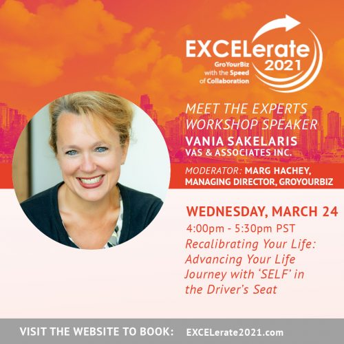 EXCELerate 2021 Recalibrating Your Life
