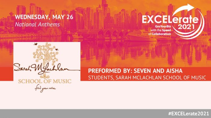 EXCELerate 2021 Sarah McLachlan School of Music